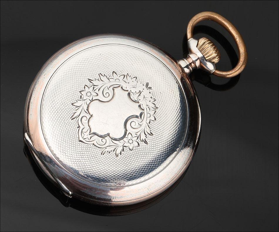 f226e0fca Reloj de Lujo Omega Fabricado en Plata Maciza en 1901. Muy Bien ...