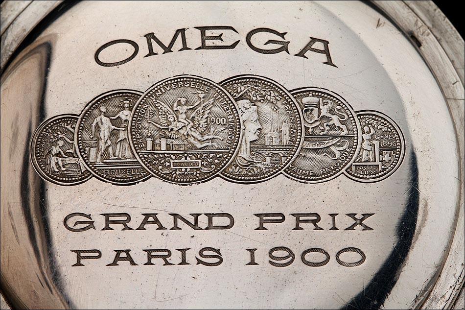f76138d77 Reloj de Bolsillo de Plata Marca Omega del Año 1900. En Muy Buen ...