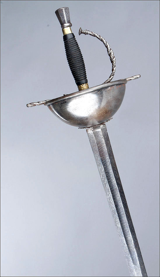 Antique 18th Cen. Spanish Rapier-Taza Sword. Motto ...