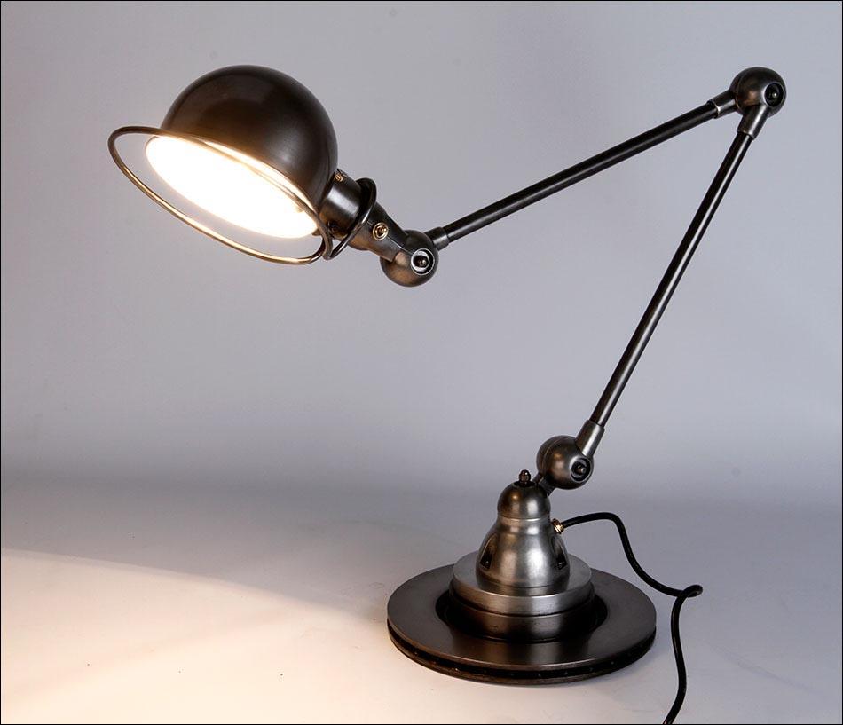 Lámpara Industrial En Jielde Atractiva de Mesa Muy Buen ARjL5c4q3