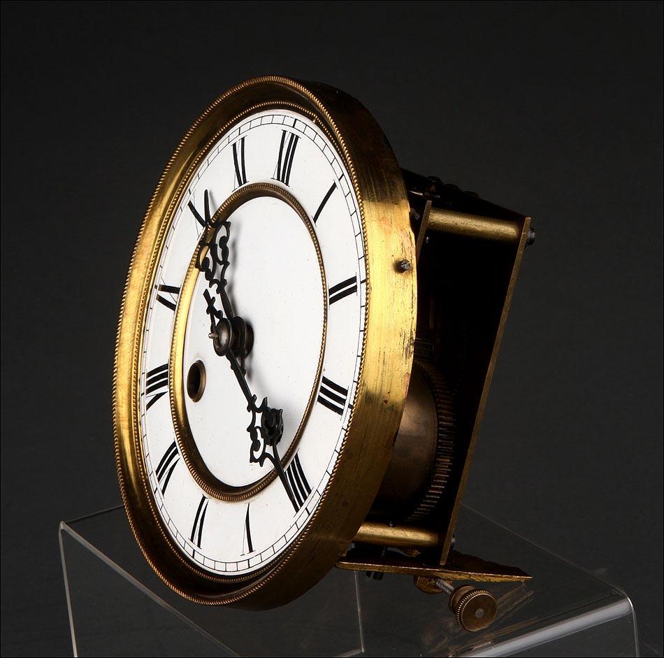 Precioso reloj de pared de madera fabricado en alemania for Reloj de pared vintage 60cm