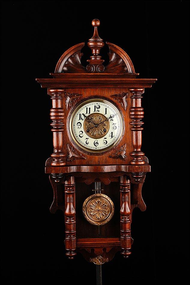 Hermoso reloj de pared kienzle restaurado y en for Relojes de pared antiguos precios