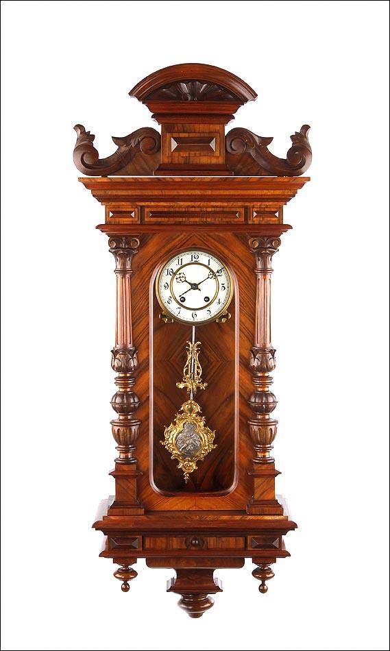 Maravilloso reloj de pared lenzkirch totalmente restaurado for Relojes de pared antiguos precios