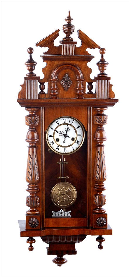 Antiguo reloj de pared mauthe alemania 1925 for Relojes de pared antiguos precios